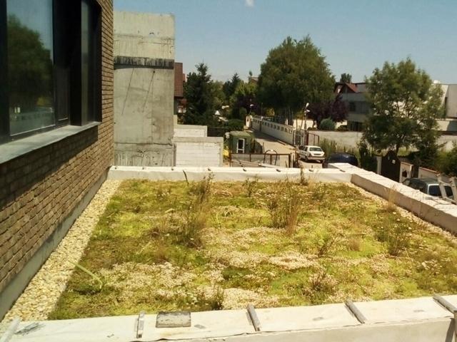 Terasă verde tip biodivers necirculabilă cu stratificație SIKA