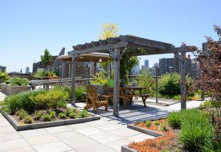 Landscape roof