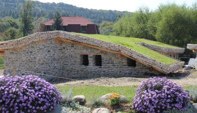 (Română) Acoperiș verde biodivers la castelul de lut din Porumbacu