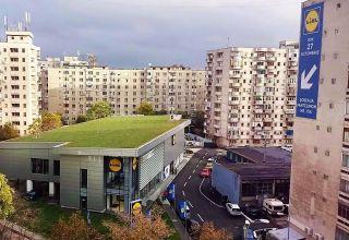 (Română) Acoperiș verde extensiv în inima Bucureștiului, la magazinul Lidl Pantelimon