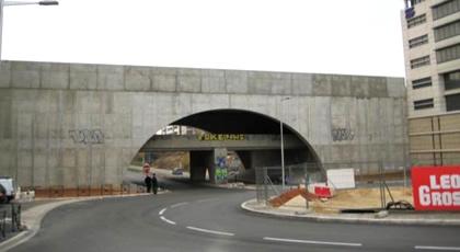 Pod din Franța înainte de înverzire