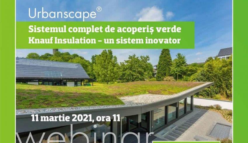 Webinar: Soluții pentru acoperișuri verzi - Urbanscape